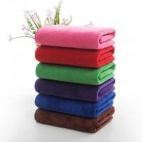 China Microfiber Filling Hotel Collection Bath Towels Rectangle Shape 1200g on sale