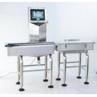 Buy cheap Check Weigher Automatic Packing Food Conveyer Belt Weight Sorting Machine Check Weigher from wholesalers