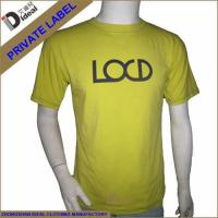 Buy cheap T-shirt Cotton Embroidery Mens T-shirt from wholesalers