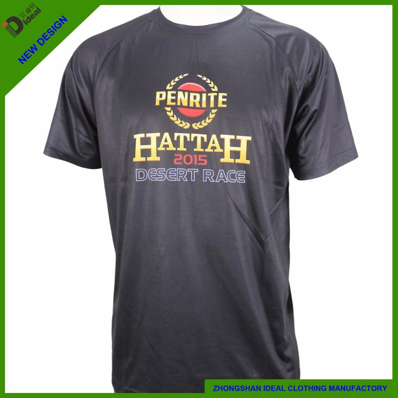 Buy cheap T-shirt Promotional Polyester Dry Fit T-shirt from wholesalers