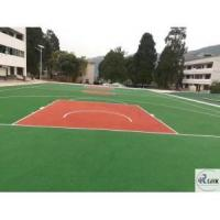 China Seamless EPDM basketball court floor colorful safety UV resistant wholesale