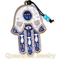 China Judaica Wall Hanging fish sign hamsa home decor on sale