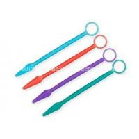 Buy cheap Dental Instruments Dental glass mirror with multicolor handle from wholesalers