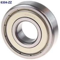 China Solid Grease ZZ Seal Type Deep Groove Ball Bearing 6304ZZ 20x52x15mm wholesale