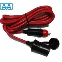 China Cigarette lighter plug sockets extension cord on sale