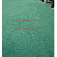Buy cheap Opaque green glass chips,cullet for concrete paver from wholesalers