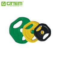 FREE WEIGHT RUBBER PLATE WITH HANDLE CUT ITEM NO: OT3208