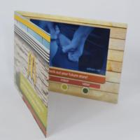 """2.4''/2.8''/4.3'/5""""/7'/10'' LCD video card/video brochure for advertising/lcd video booklet"""