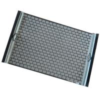 Buy cheap Hook Strip Flat Shaker Screens from wholesalers