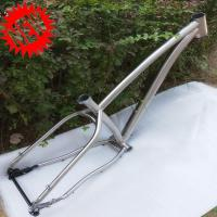 Buy cheap Titanium Fat Bike Frame 26